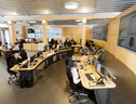 Il Next Generation Security Operation Centre della Leonardo, a Chieti (fonte: Leonardo) (ANSA)