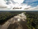 (Day's Edge Productions-WWF US- Photograph of the Tambopata River from a drone_ Peru) (ANSA)
