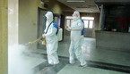 Volunteers Walk Into The Community To Disinfect And Prevent Pneumonia (ANSA)