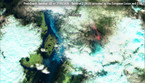 Fiamme e fumo il 27 maggio nella regione della Siberia intorno a Chersky prima degli incendi (fonte:Sentinel-2 (2020) provided by the European Union and ESA. Analyzed by e-GEOS) (ANSA)
