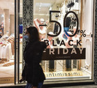 Black Friday in Milan (ANSA)