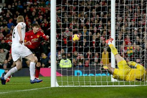 Premier League: Manchester United-Burnley 2-2 (ANSA)