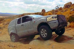 Ford Bronco, test nel deserto in vista del lancio a New York (ANSA)
