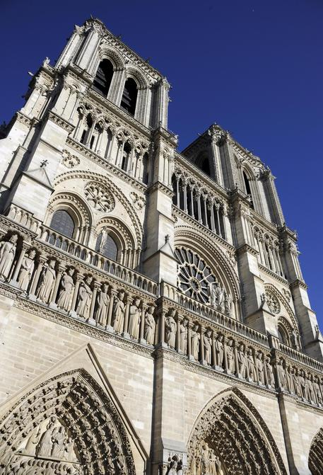 Cathedral of Notre-Dame of Paris on fire © EPA