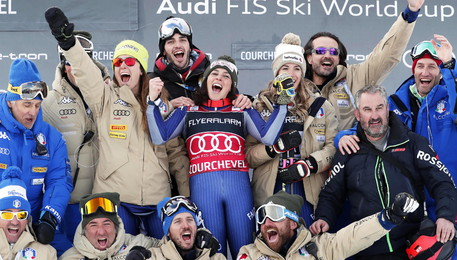 FIS Alpine Skiing World Cup in Courchevel (ANSA)