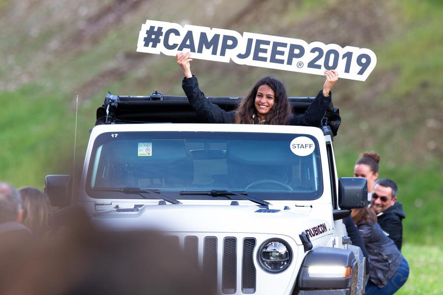 Gladiator, Wrangler e tanti altri off-road Jeep al Camp 2019 © Ansa