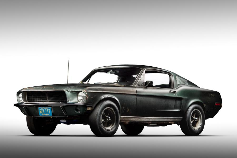 Ford Mustang Bullit del 1968 - CREDIT: uff. st. Ford ©