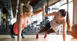 Due donne in palestra foto nd3000 iStock.