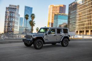 Jeep Wrangler, al via gli ordini di 4xe First Edition (ANSA)
