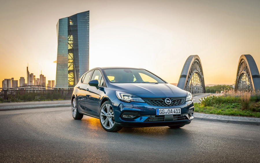Opel Astra, auto al top per l'efficienza © Ansa